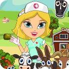 Jocul Cute Farm Hospital