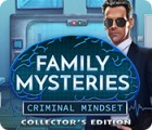 Jocul Family Mysteries: Criminal Mindset Collector's Edition
