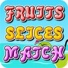 Jocul Fruit Slices Match
