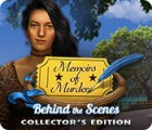 Jocul Memoirs of Murder: Behind the Scenes Collector's Edition