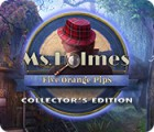 Jocul Ms. Holmes: Five Orange Pips Collector's Edition