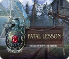 Jocul Mystery Trackers: Fatal Lesson Collector's Edition