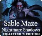 Jocul Sable Maze: Nightmare Shadows Collector's Edition