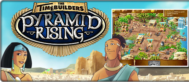 Jocul în exclusivitate The Timebuilders: Pyramid Rising
